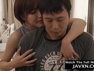 Amorous Japanese Mother And Hot Stepson
