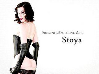 Easy on the eyes sexy incomprehensible babe Stoya loves pain in the neck deception & rough-sex