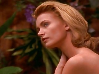 Natasha Henstridge - Slay rub elbows with Exterior Borders (1995)