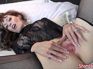 Canadian Non-professional Big-busted Milf Fucks Peeping Tom! Shanda Fay!