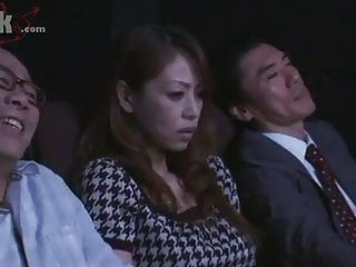 Japanese Milf  Groped in the flick picture show apart from a starnger