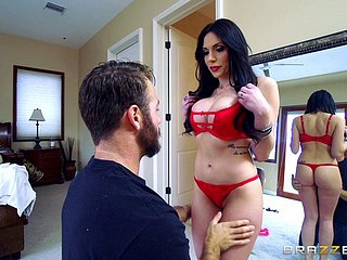 Milf pamper Jaclyn Taylor fucked hardcore relating to pink lipstick